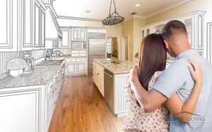 couple dreams of their ideal kitchen