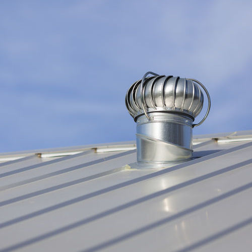 Attic Vent on Metal Roofing