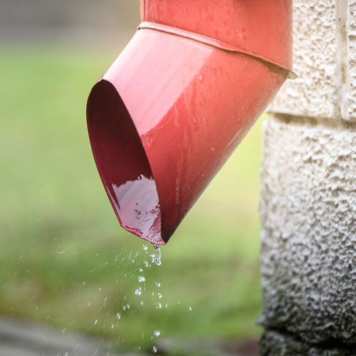 Gutters help to protect the roof decking, foundation, and more on your home.